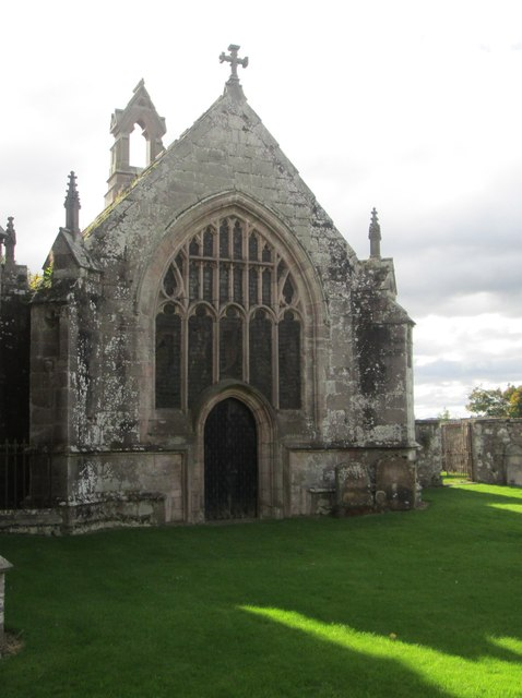 Remains of St. Mary's Collegiate Kirk