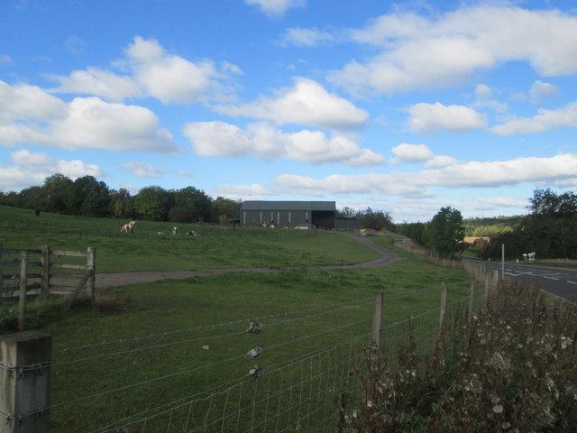 Farm buildings at Skellyton