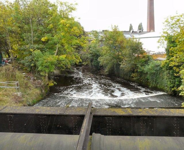 River Tame below Broomstair Bridge