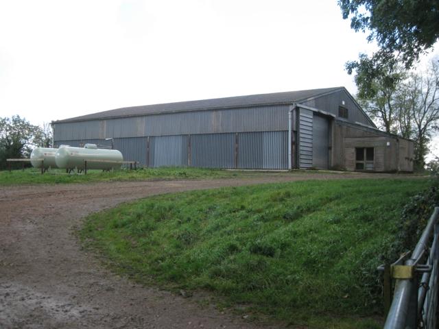 Farm buildings, north end of Wormleighton