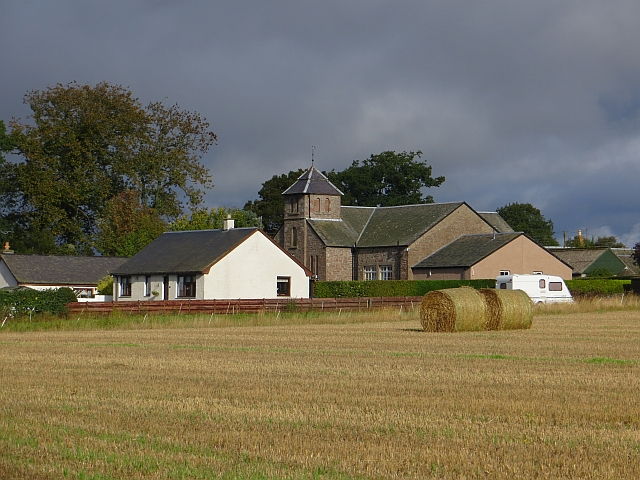 The hall, Kinrossie