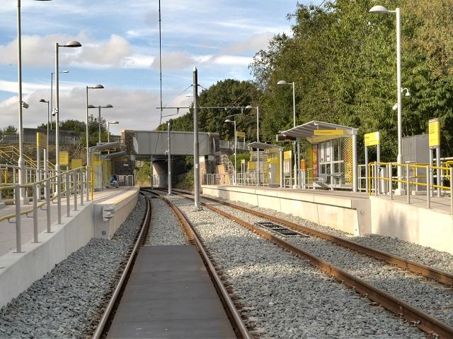 Milnrow Tram Station