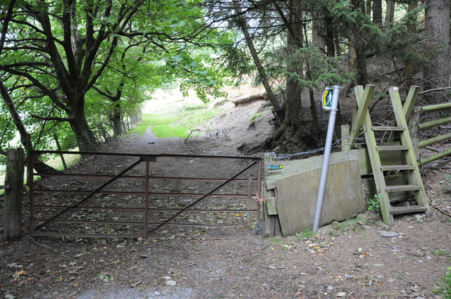 Gate to Blaen pennant