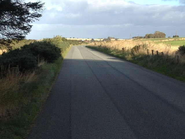 Road from Tain to Portmahomack