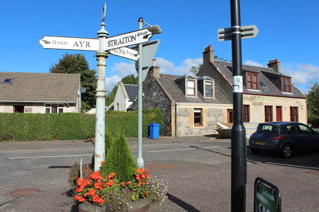 Old Style Signpost, Kirkmichael