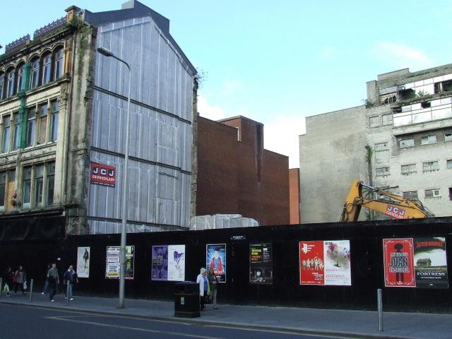 Gap site on Argyle Street