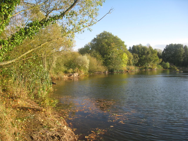 Fishing pond, Eastrington Ponds local nature reserve