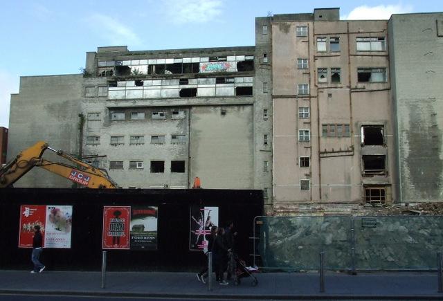 Trongate demolition site