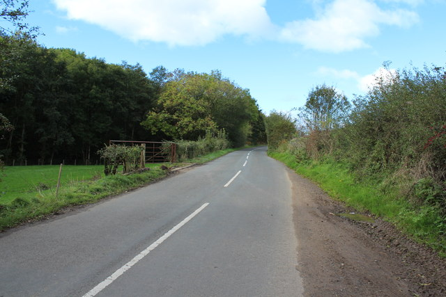 Road to Kirkmichael near Dyrockbank