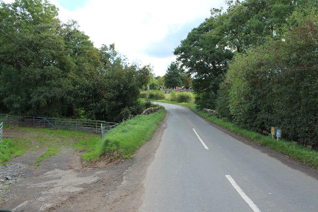 Road to Patna near Dyrockbank