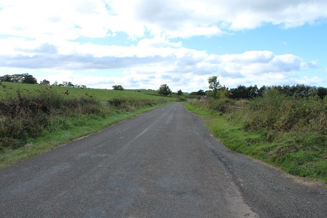 Road to Kirkmichael near Dalvennan