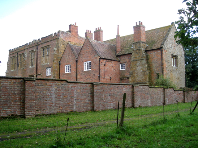 The Manor House from the northwest, Wormleighton