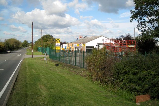Premises of Easi Uplifts by A423 at Fenny Compton Wharf