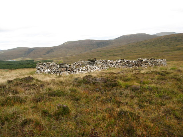 Not on the OS Map - old sheep pens
