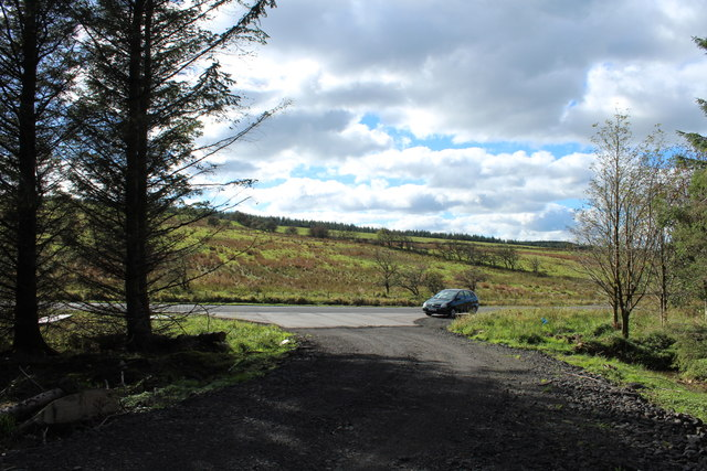 Forest Track to the Patna-Kirkmichael Road