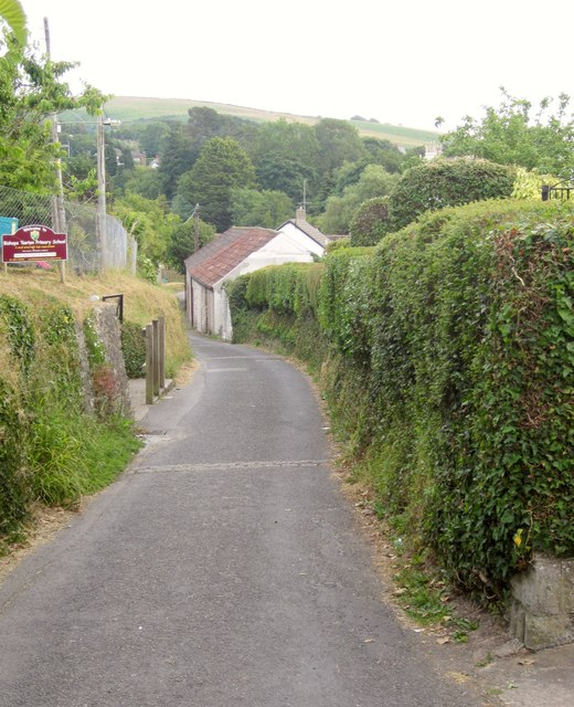 School Lane, Bishop's Tawton