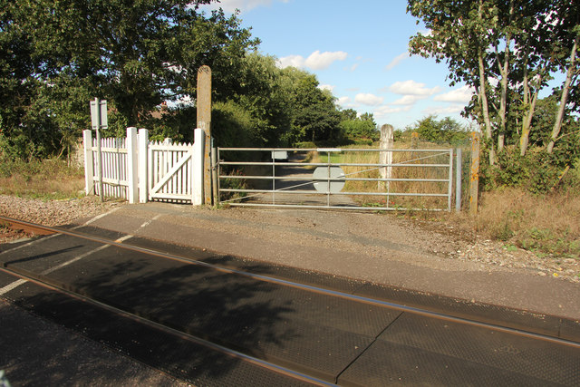 Millpost level crossing