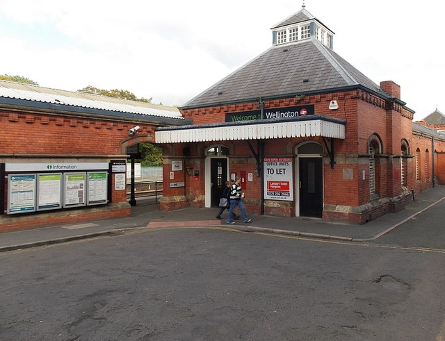 Welcome to Wellington railway station