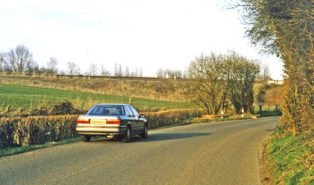 Site of Hothfield Halt, 1995