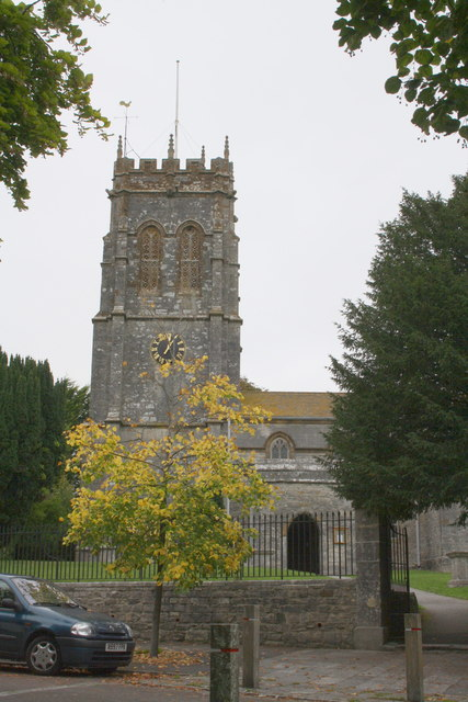 Tower of St George's Church Fordington