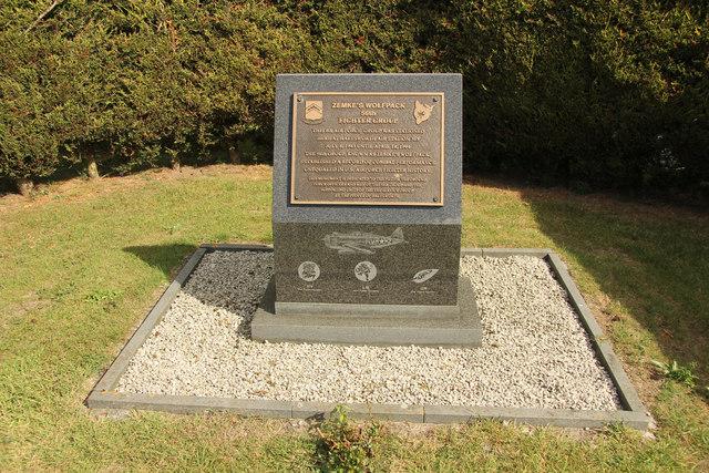 Zemke's Wolfpack memorial