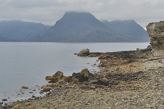 Elgol shoreline