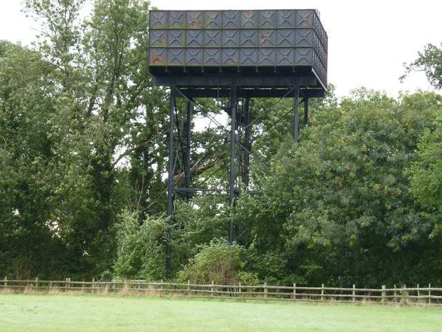 Water tower at Conington (RAF Glatton)