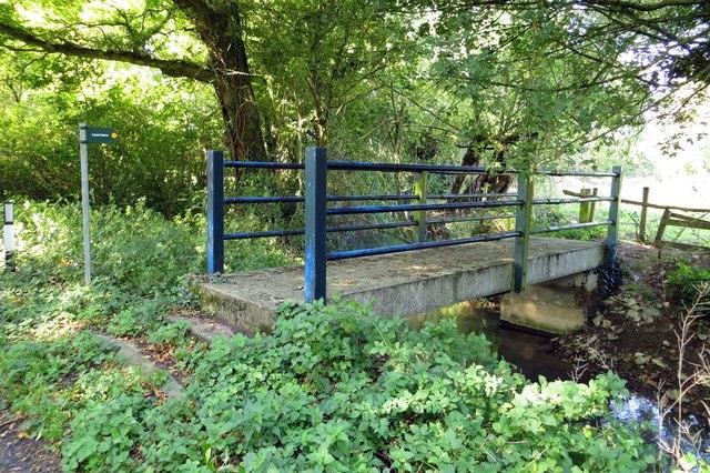 Footbridge over Gagle Brook