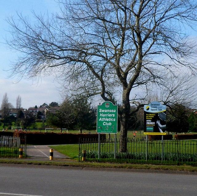 Swansea Harriers Athletics Club and Swansea Tennis & Squash Club