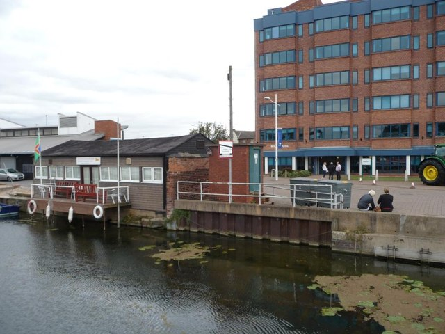 Lincoln Boat Club HQ, Brayford Pool
