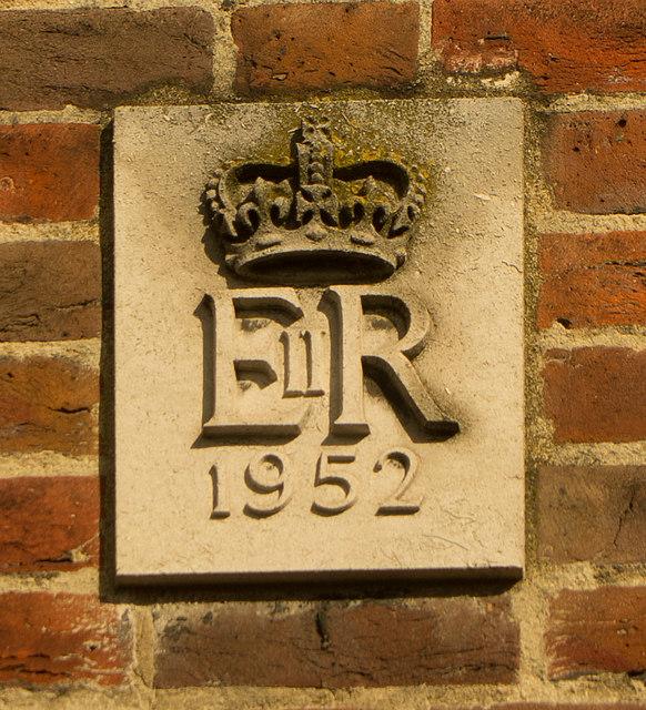 Date stone, former Edgware Post Office