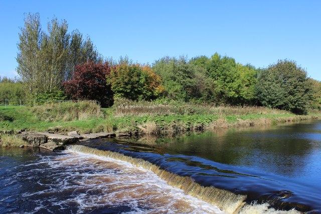 Weir on River Garnock, Kilwinning