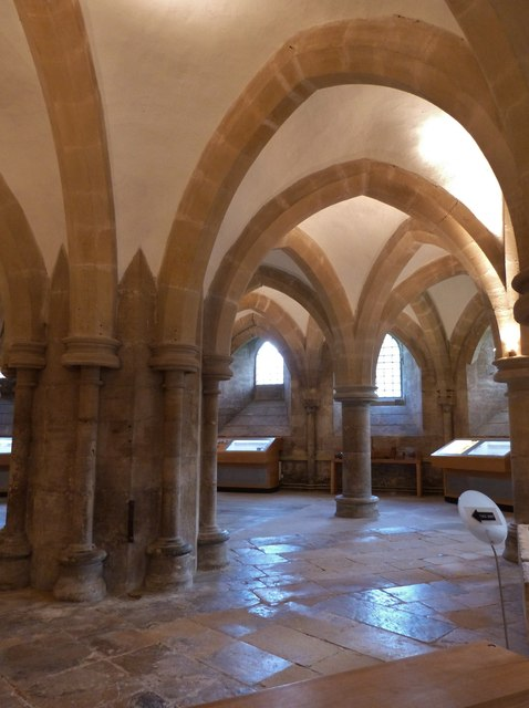 The Undercroft, Wells Cathedral