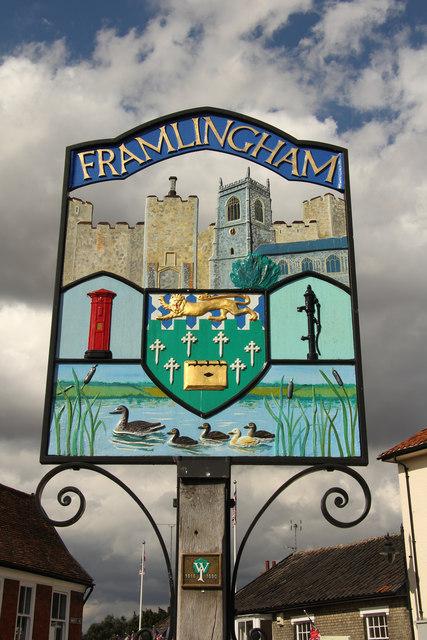 Framlingham Town sign