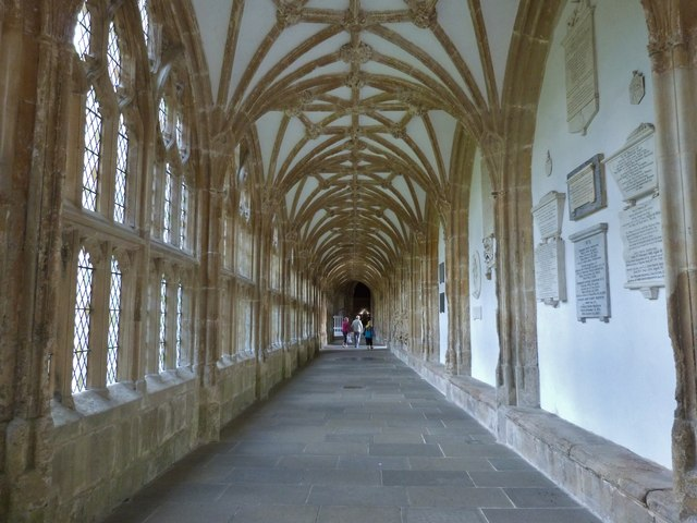 Part of the Cloisters, Wells Cathedral