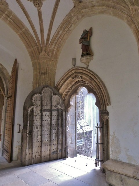 Ancient door, Wells Cathedral