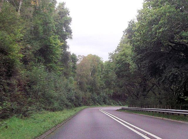 A487 at Afon Tafarn-helyg