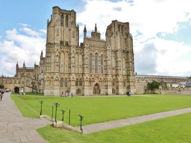 Wells Cathedral, the magnificent West Front