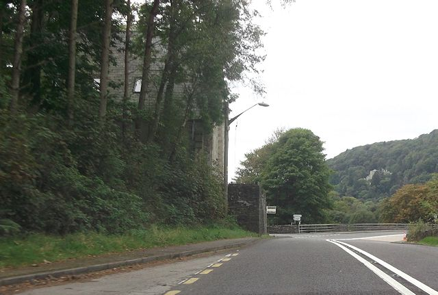 A496 junction at Maentwrog