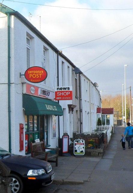 Blackpill post office, Swansea