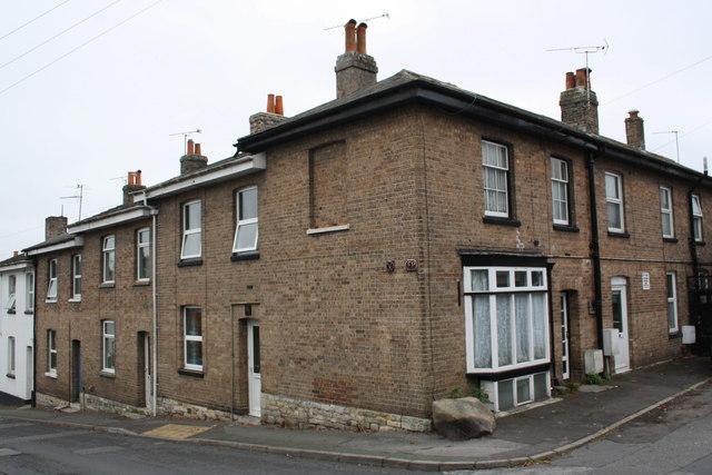 Houses on High Street Fordington