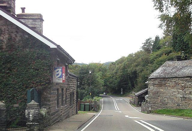 A487 at Tan-y-Bwlch