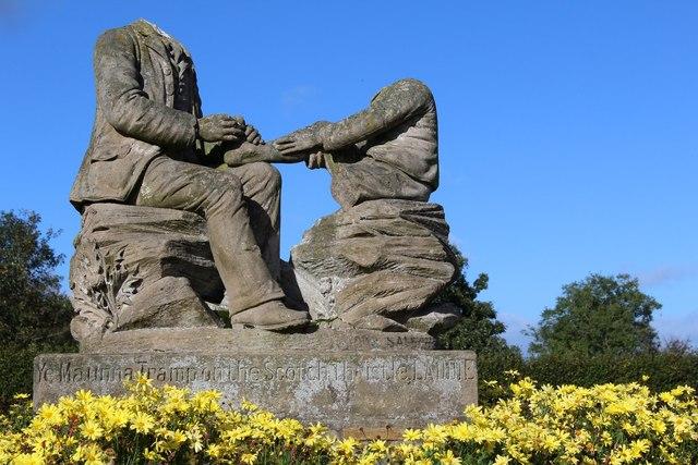 Headless Statues, Eglinton Country Park