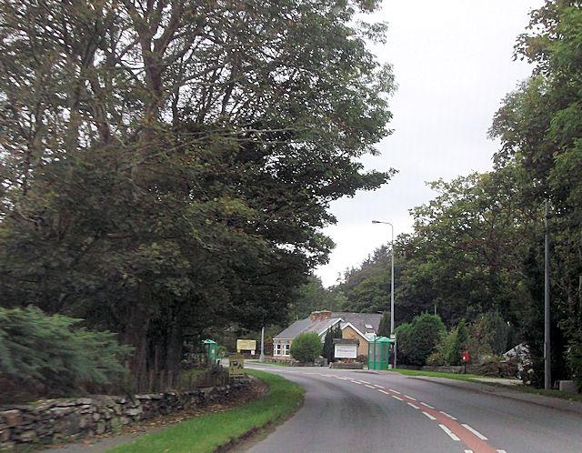 A497 at Plasgwyn