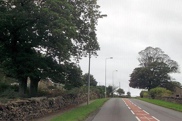 A 497 west of Pentrefelin