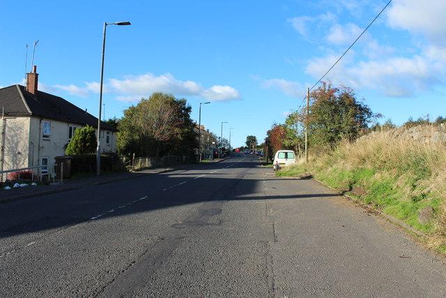 Road to Ayr at Polnessan