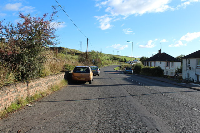 Road to Dalmellington at Polnessan