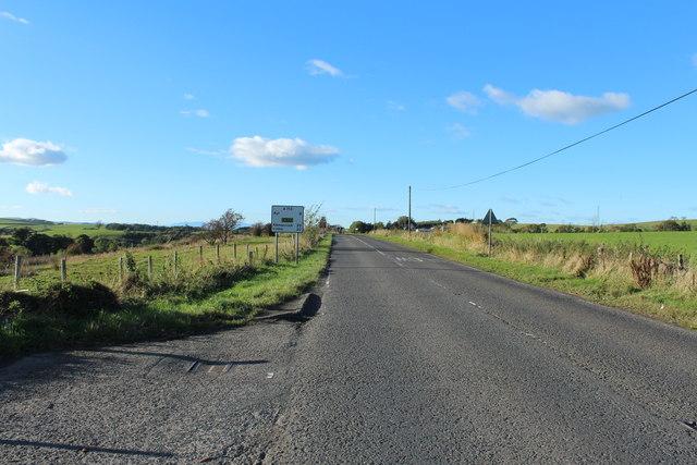 Road to Ayr near Polnessan