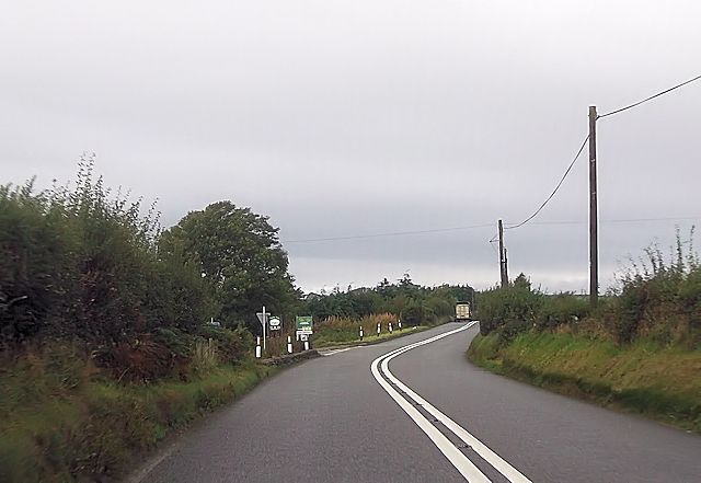 Pentrefelin junction from A487