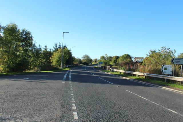 Road to Ayr at Hollybush